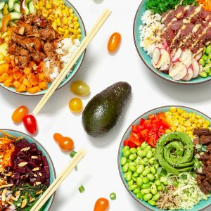 Poké bowl signature dishes